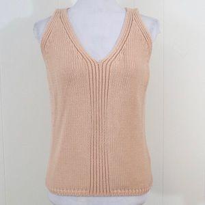 J. Crew knit sweater tank